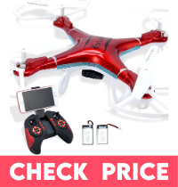 QCopter Quadcopter Drones with Camera and Live Video