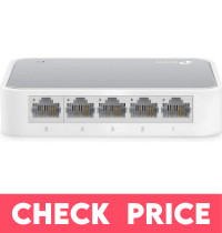 TP-Link 5-Port Fast Ethernet Switches